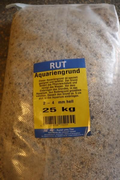 Aquarienkies 2-4 mm hell - 25kg