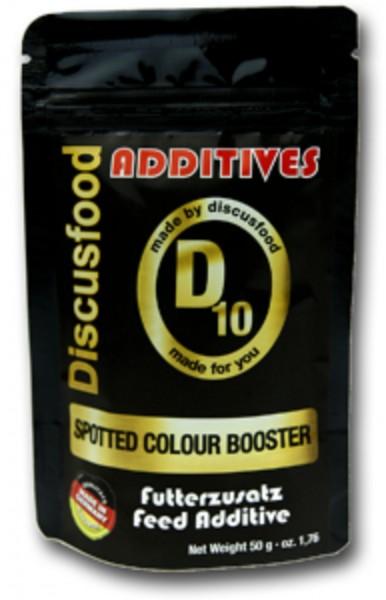 Additiv D10 – Spotted Color Booster 50g Discusfood Futterersatz verstärkt Farben Rot