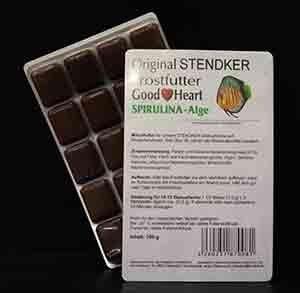 Stendker GoodHeart SPIRULINA Diskusfutter 100g Blister