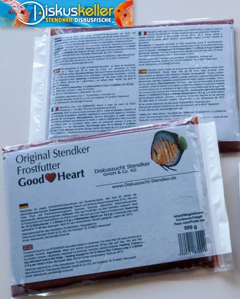 10 x Stendker GoodHeart Diskusfutter: 500g Flachtafel Sparpaket Stück € 10,98