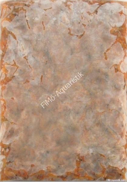 Sandgarnelen gekocht, ca. 2 bis 4cm 1 KG Flat Pak (Flachtafel)