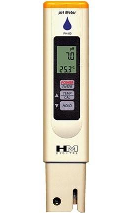 HM PH 80 PH Wert und Temperatur Messgerät