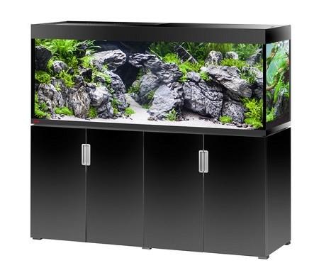 EHEIM Incpiria 500 - schwarz hochglanz - Süßwasser Aquarien-Kombination