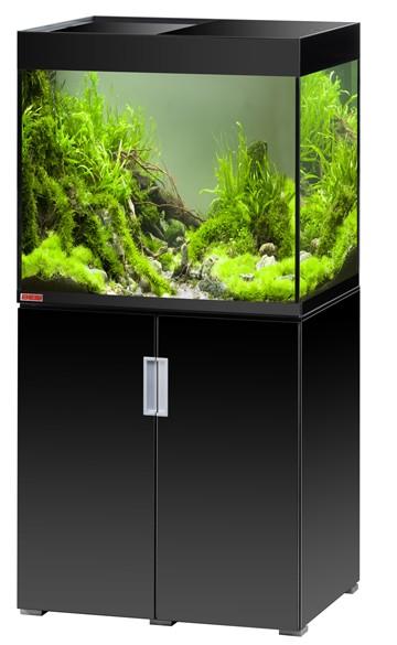 EHEIM Incpiria 200 - schwarz hochglanz - Süßwasser Aquarien-Kombination