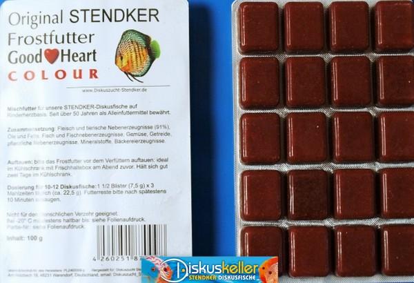 50 x Stendker GoodHeart COLOUR Diskusfutter: 100g Blister Sparpaket