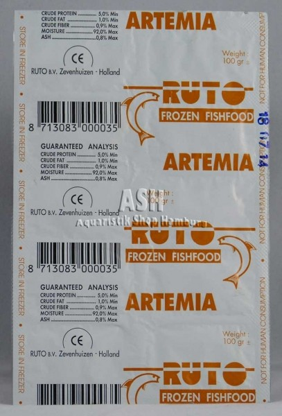 RUTO's Artemia 100g Blister